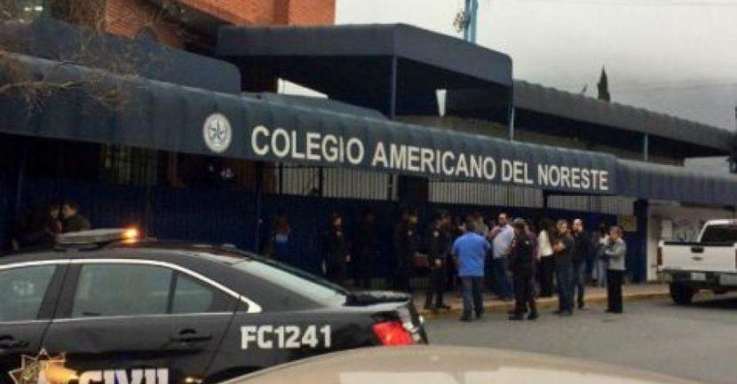 REPORTAN BALACERA AL INTERIOR DE COLEGIO EN MONTERREY