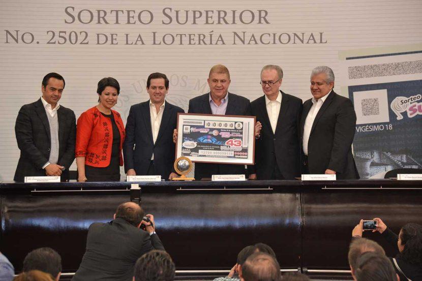 CON BILLETE CONMEMORATIVO DE TEOTIHUACÁN DE  LA LOTERÍA NACIONAL CONMEMORAN LA FUNDACIÓN DEL EDOMÉX