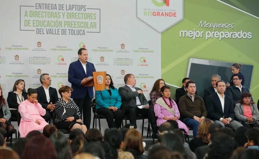 MEJORARÁ EDOMÉX PLANTELES EDUCATIVOS CON ENTREGA DE MÁS DE 2 MILLONES DE PRODUCTOS