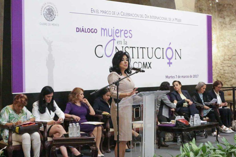 RECONOCE CONSTITUCIÓN DE LA CIUDAD DE MÉXICO DERECHOS HISTÓRICOS DE LAS MUJERES
