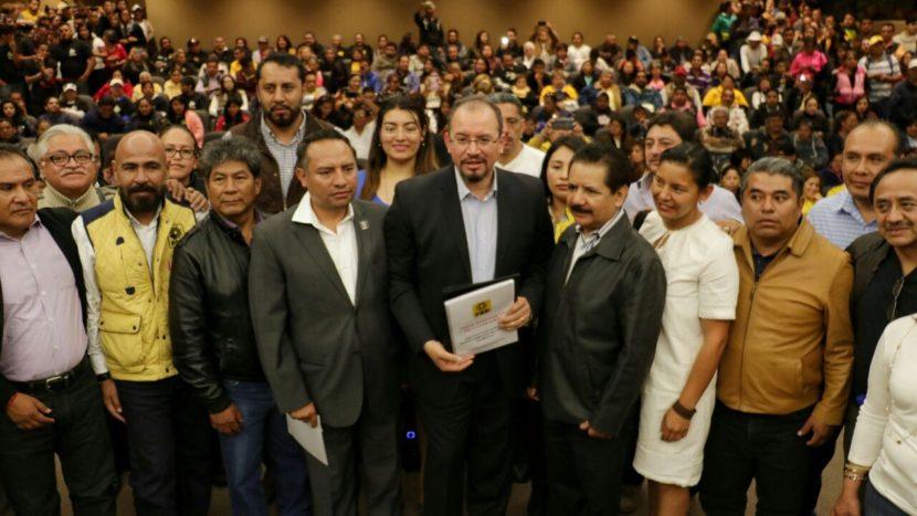 PRESENTA PRD PLATAFORMA ELECTORAL EN EL IEEM