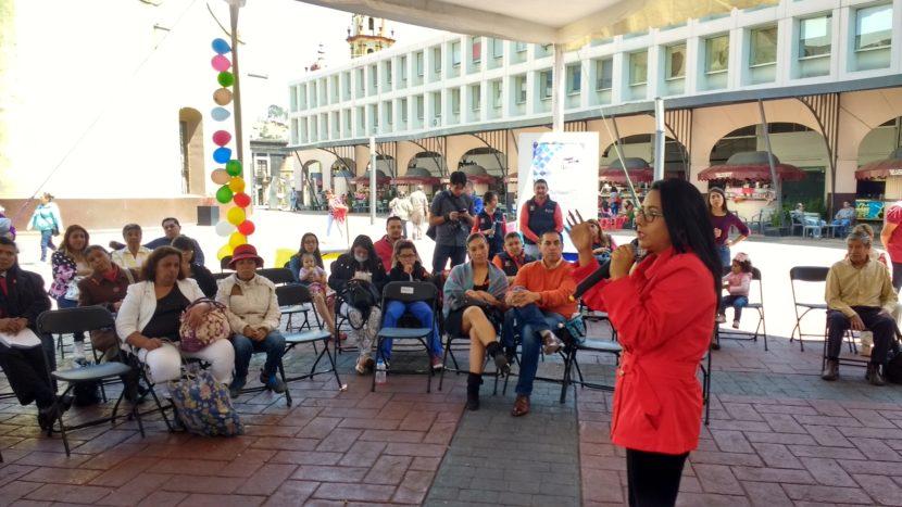 FESTEJAN PRIMER ANIVERSARIO DEL DÍA NARANJA MUNICIPAL EN TOLUCA
