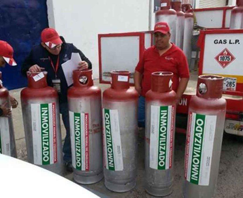 PROFECO SANCIONA A 128 GASERAS POR IRREGULARIDADES