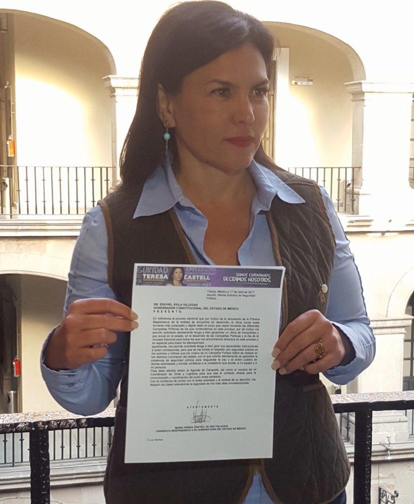 TRAS HOSTIGAMIENTO, TERESA CASTELL EXIGE PROTECCIÓN