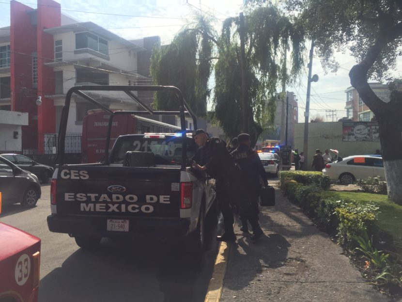 EVACUAN STPS TRAS AMENAZA DE BOMBA FALSA