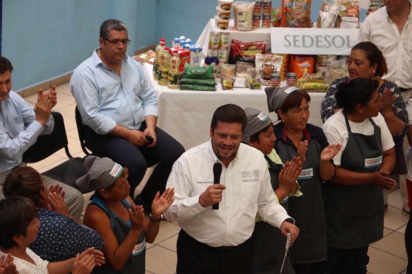 FORTALECEN COMEDORES COMUNITARIOS EN PUEBLA