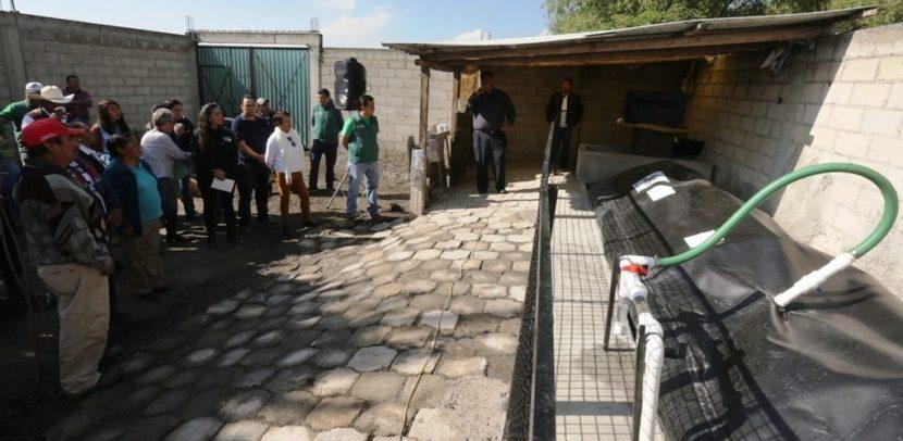 DESTACA METEPEC BENEFICIO DE BIODIGESTORES COMO GENERADOR DE ENERGÍA Y REDUCTOR DE CONTAMINANTES