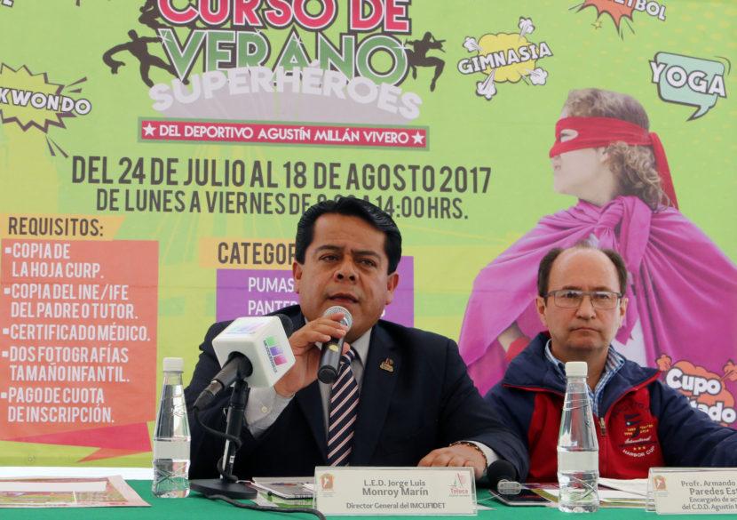 """INVITA TOLUCA AL CURSO DE VERANO """"SUPERHÉROES"""""""