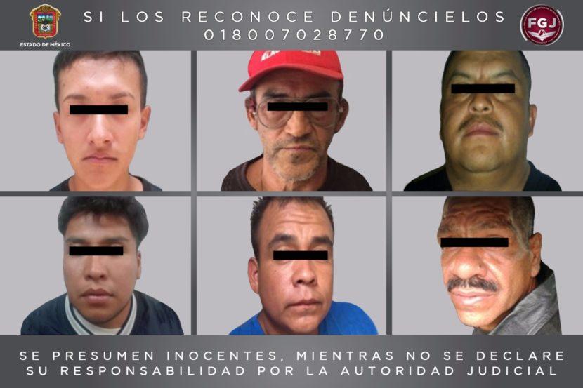 CUMPLIMENTA FISCALÍA GENERAL SEIS ÓRDENES DE APREHENSIÓN POR LOS DELITOS DE VIOLACIÓN Y ROBO