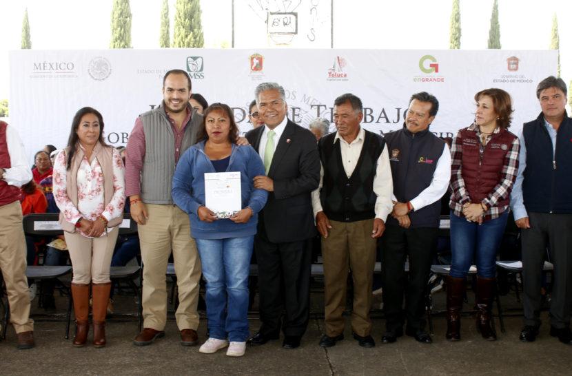 INICIAN GOBIERNOS FEDERAL Y DE TOLUCA REHABILITACIÓN DEL PARQUE GEOVILLAS DE SAN MATEO OTZACATIPAN
