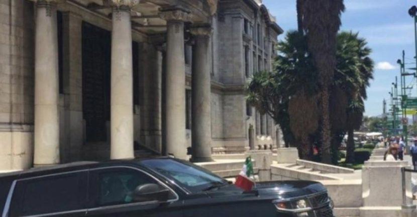 PEÑA NIETO RECORRE EXPOSICIÓN DE PICASSO Y RIVERA EN BELLAS ARTES