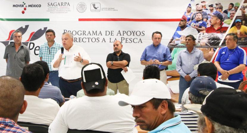 BENEFICIARÁ LA CONAPESCA A 34 MIL 500 PESCADORES CON EL PROGRAMA PROPESCA