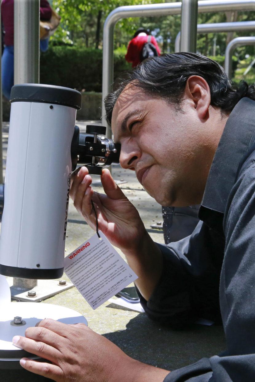 HABRÁ TELESCOPIOS EN CU DE UAEM PARA OBSERVAR EL ECLIPSE SOLAR