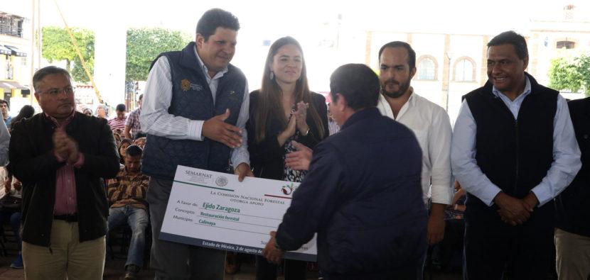 AUTORIDADES DEL GOBIERNO FEDERAL Y ESTATAL RECONOCEN A METEPEC POR SER GESTOR EJEMPLAR