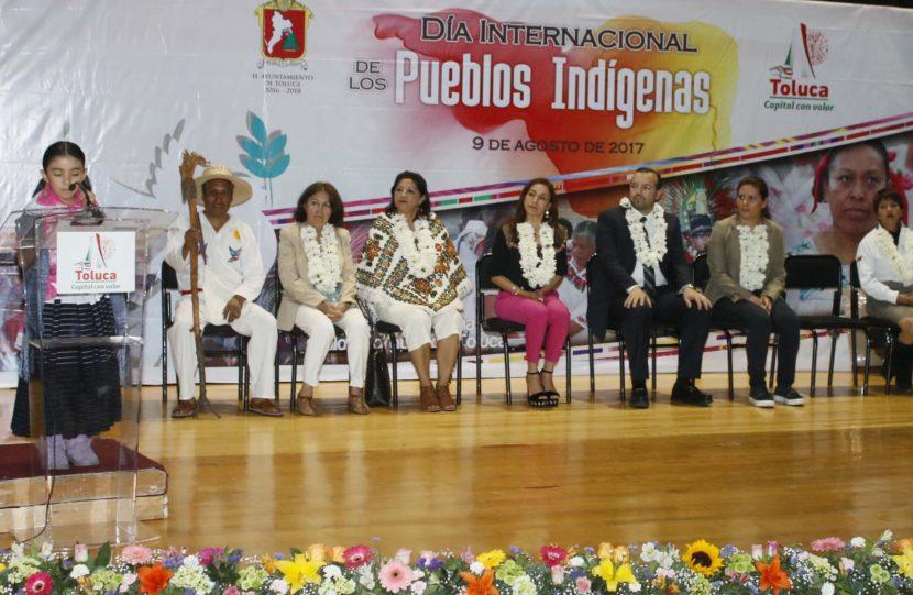 FORTALECE TOLUCA PROGRAMAS A FAVOR DE LOS PUEBLOS ORIGINARIOS