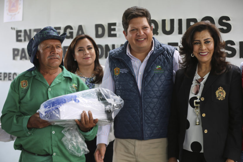 MEJORA METEPEC CONDICIONES DE TRABAJO DE SERVIDORES PÚBLICOS MUNICIPALES