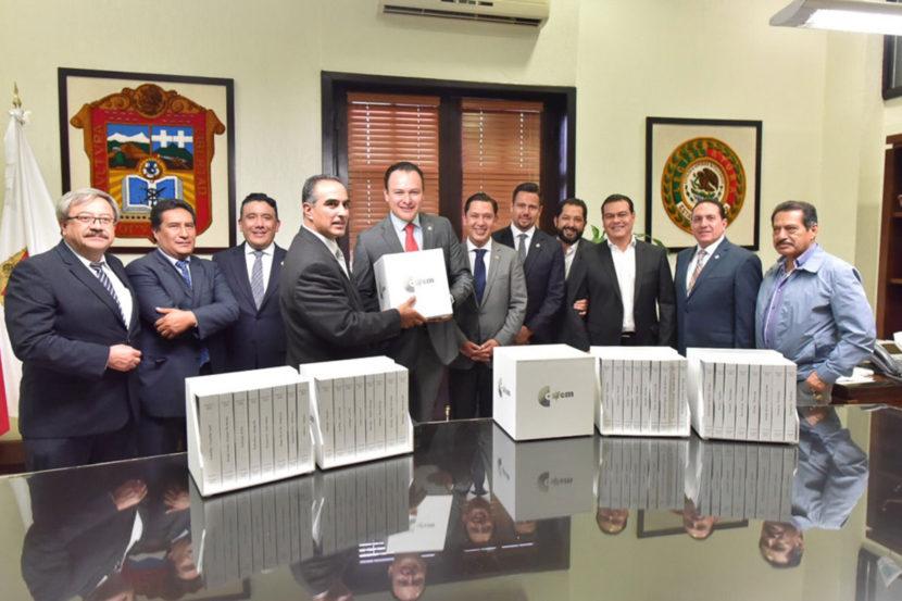 RECIBE LEGISLATURA MEXIQUENSE INFORME DE LAS CUENTAS PÚBLICAS 2016