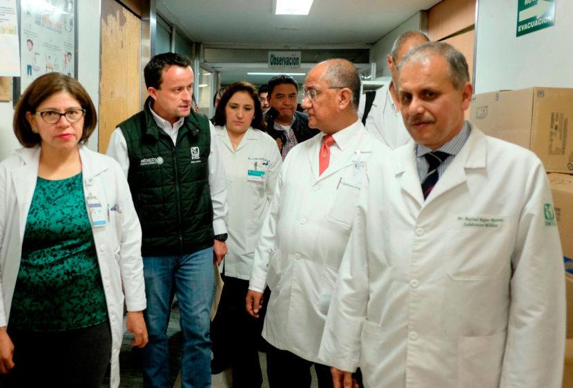 EL DIRECTOR GENERAL DEL IMSS SUPERVISÓ LA OPERACIÓN DEL CENTRO MÉDICO LA RAZA