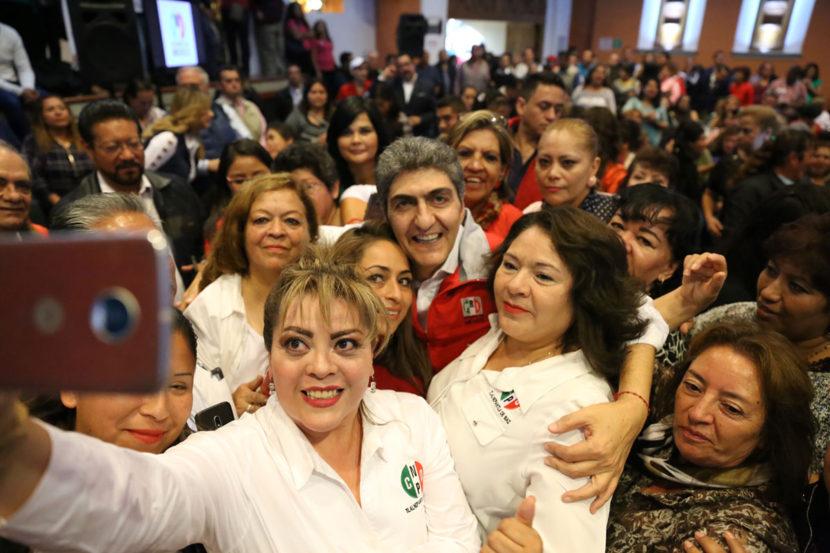 EN EL PRI TODAS LAS VOCES  ESTÁN INCLUIDAS PARA ENFRENTAR EL RETO ELECTORAL DEL 2018: ERNESTO NEMER