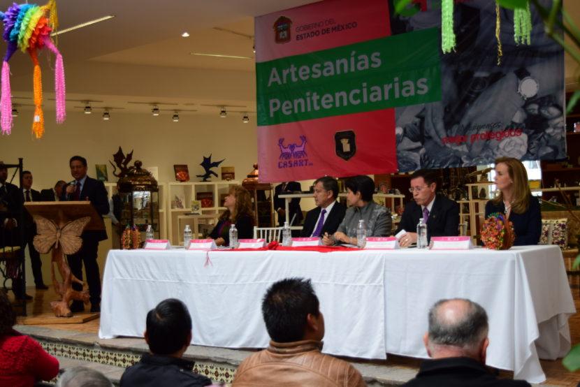 IMPULSARÁN COLOCACIÓN DE ARTESANÍAS PENITENCIARIAS EN EL MERCADO COMERCIAL