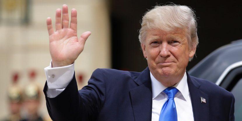 Llamada telefónica entre el Presidente Enrique Peña Nieto y el Presidente Donald J. Trump
