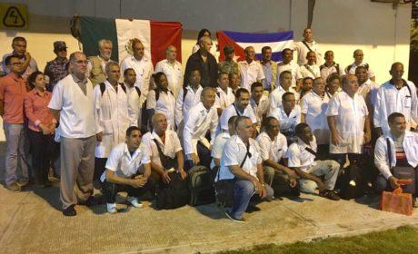 LLEGA A MÉXICO BRIGADA MÉDICA CUBANA PARA ASISTIR A DAMINIFICADOS EN OAXACA