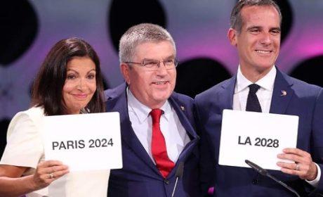 COI OTORGA SIMULTANEAMENTE JUEGOS OLÍMPICOS A PARÍS 2024 Y LOS ÁNGELES 2028