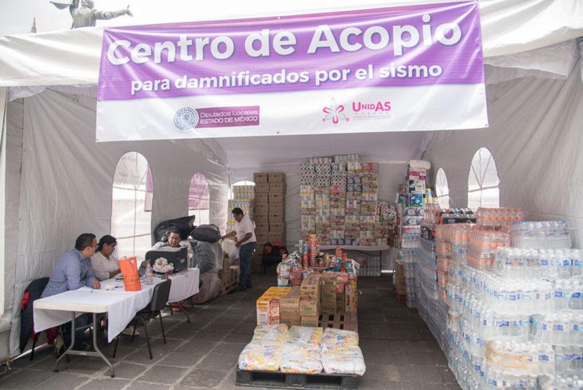 CONTINÚA CENTRO DE ACOPIO DE LA LEGISLATURA