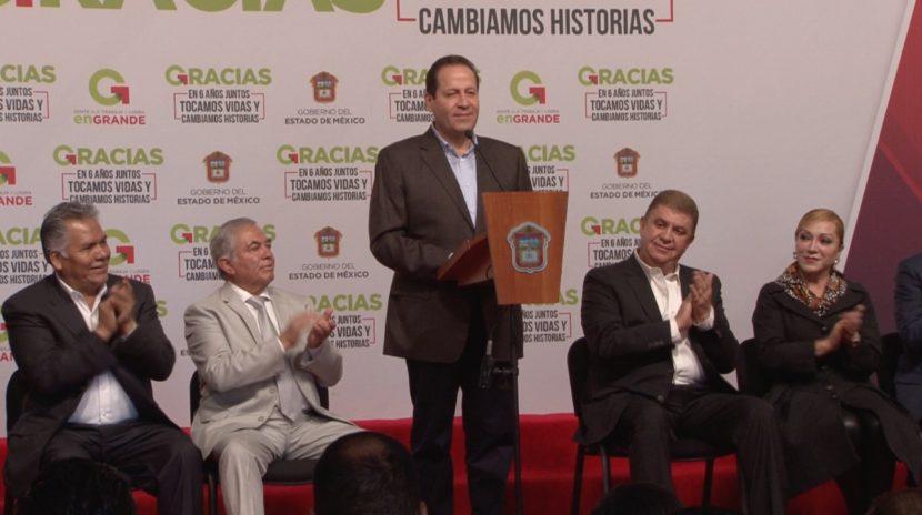 PIDE EAV A LOS ALCALDES MEXIQUENSES UNIDAD DURANTE MANDATO DE ALFREDO DEL MAZO