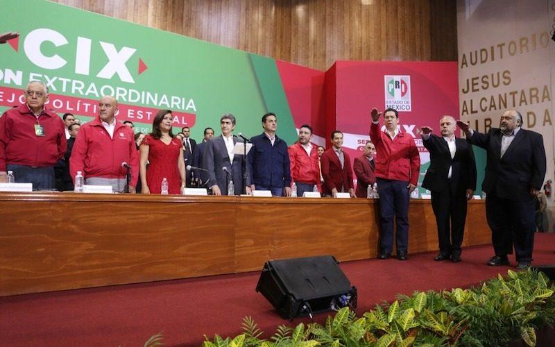 Aprobó PRI Edoméx método de convención para postulación de candidatos