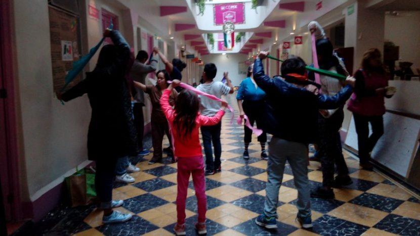Alas y Raíces organiza Brigadas Culturales en albergues para damnificados