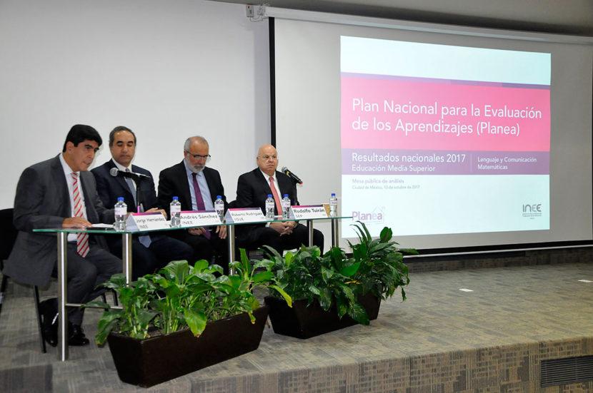 PLANEA MUESTRA IMPORTANTES RETOS PARA EDUCACIÓN MEDIA SUPERIOR: INEE