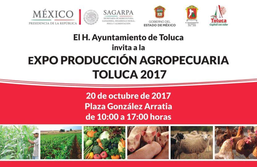 ALISTA TOLUCA EXPO PRODUCCIÓN AGROPECUARIA TOLUCA 2017
