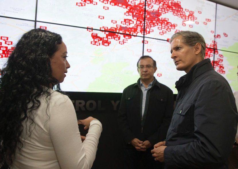 INAUGURA ALFREDO DEL MAZO CENTRO DE CONTROL Y GESTIÓN DE LA OPERACIÓN DEL TRANSPORTE PÚBLICO