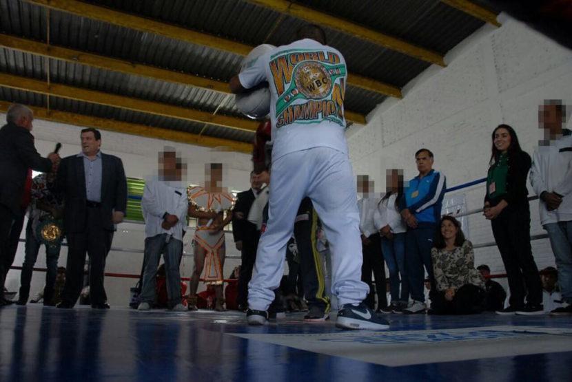 """ADOLESCENTES DEL CENTRO DE INTERNAMIENTO """"QUINTA DEL SOL"""" ESTRENAN GIMNASIO DE BOX"""