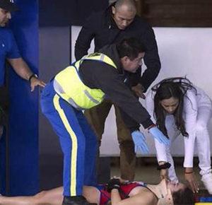 CLAVADISTA MEXICANA SAMANTHA JIMÉNEZ SE GOLPEA Y CAE INCONSCIENTE (VIDEO)