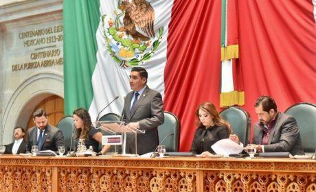 DESTACA OMAR VELÁZQUEZ RESULTADOS DE LA ACTIVIDAD  LEGISLATIVA MEXIQUENSE