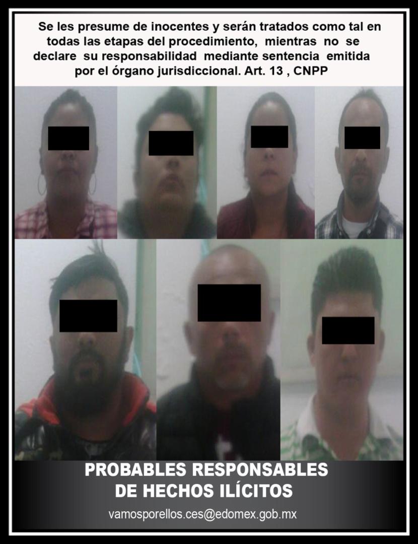 SSEM DETIENE Y REMITE AL MP A TRES ELEMENTOS DE INTELIGENCIA