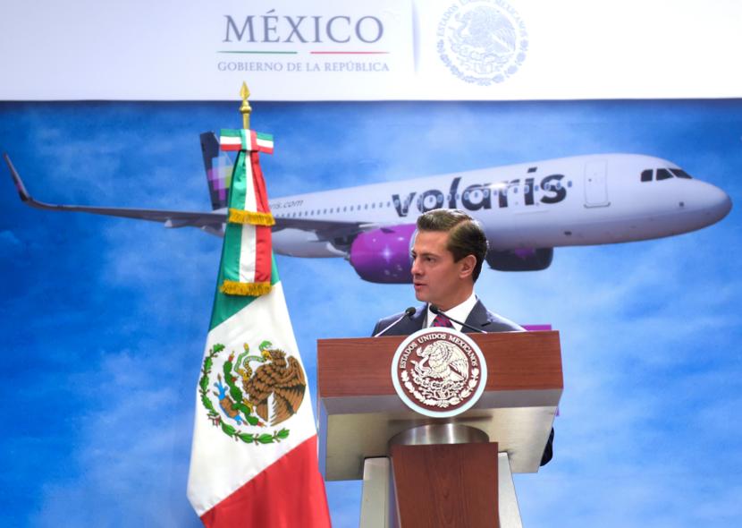 LAS EMPRESAS VEN EN MÉXICO UN FUTURO PROMISORIO: ENRIQUE PEÑA NIETO