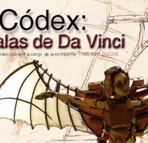 """""""CÓDEX: LAS ALAS DE DA VINCI"""" EN EL CENTRO CULTURAL TOLUCA"""