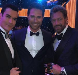 ENCUENTRO DE ESTRELLAS EN LOS PREMIOS TV Y NOVELAS 2018