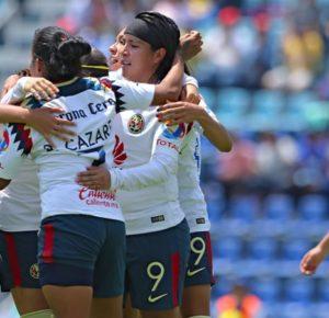 AMÉRICA GOLEÓ A DOMICILIO AL CRUZ AZUL EN LIGA MX FEMENIL