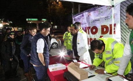 """CONTINÚA EN TLALNEPANTLA EL PROGRAMA """"CONDUCE SIN ALCOHOL"""""""
