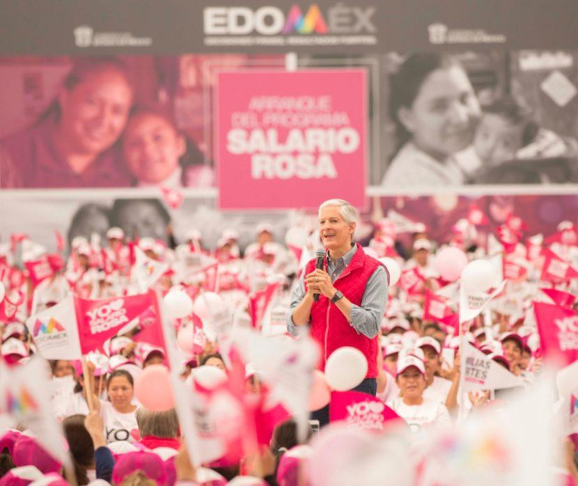 CON EL SALARIO ROSA SE APOYA DESARROLLO DE LAS MUJERES Y DE SUS FAMILIAS: ALFREDO DEL MAZO