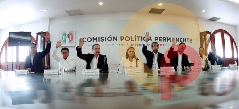 EN TOLUCA, APRUEBA CEN DEL PRI PLURIS AL SENADO Y CONGRESO FEDERAL (VIDEO)