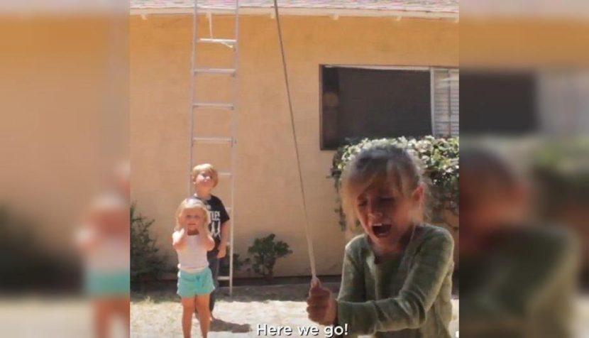NIÑOS HACEN TRAVESURA QUE PUDO SER TRAGEDIA