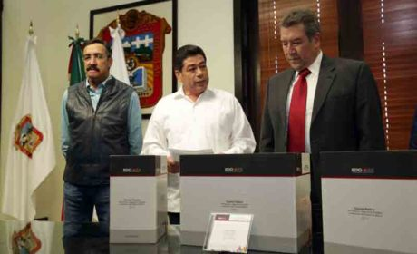 ENTREGA EJECUTIVO ESTATAL CUENTA PÚBLICA 2017 A LA LEGISLATURA MEXIQUENSE