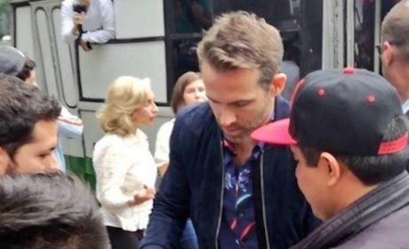 "RYAN REYNOLDS PASEÓ EN ""MICRO"" EN CDMX (VIDEO)"