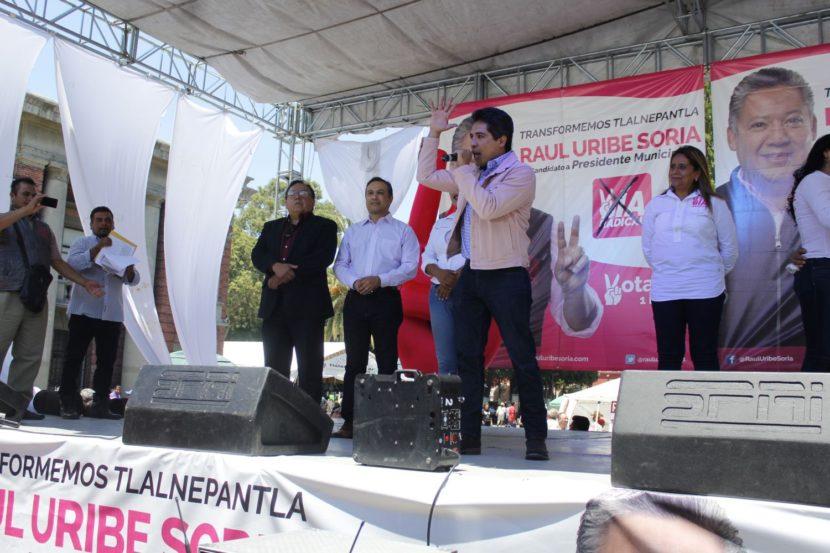 ARRANCA LA CAMPAÑA DE VÍA RADICAL EN TLALNEPANTLA DE BAZ