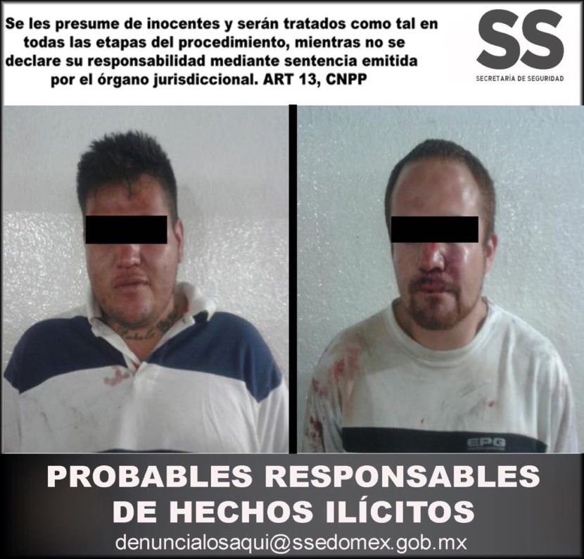RESCATAN A DOS ASALTANTES DE TRANSPORTE CUANDO ERAN GOLPEADOS